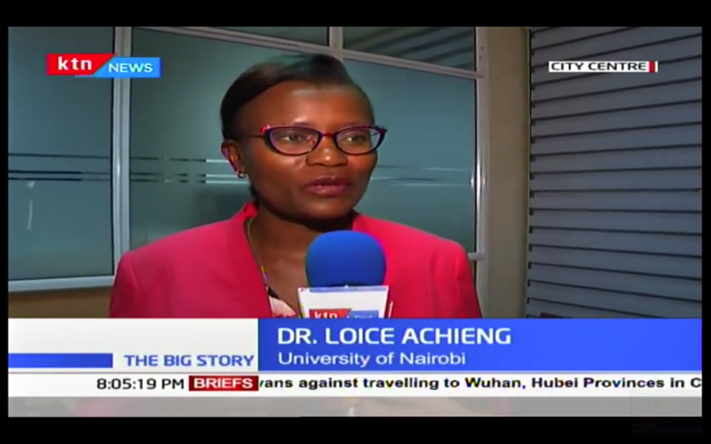 DR LOICE INFECTIOUS DISEASE EXPERT SPEAKS TO KTN ABOUT ...