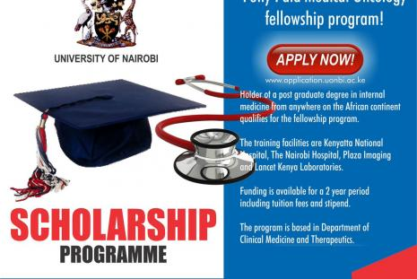 Fellowship in Medical Oncology scholarship poster.