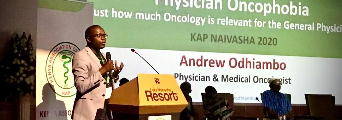 DR ANDREW DISCUSSES PHYSICIAN ONCOPHOBIA